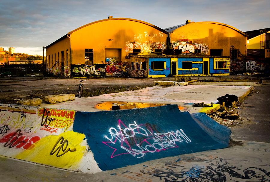 Chernobyl sunset