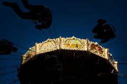 Spinning in the dark
