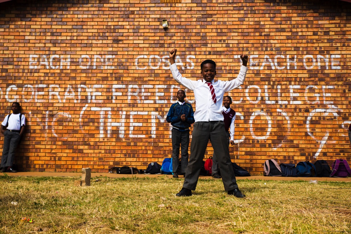 Education is liberation