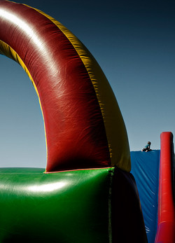 Away from the slide