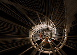 Eye of the spiral staircase