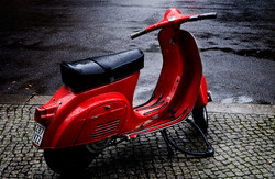 Red scooter 3