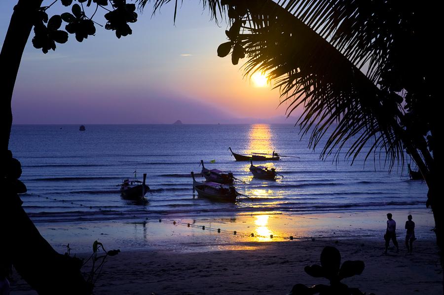 Aonang sunset