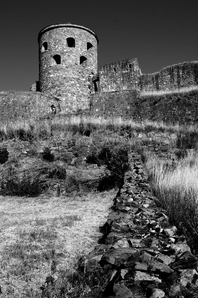 Empty watchtower