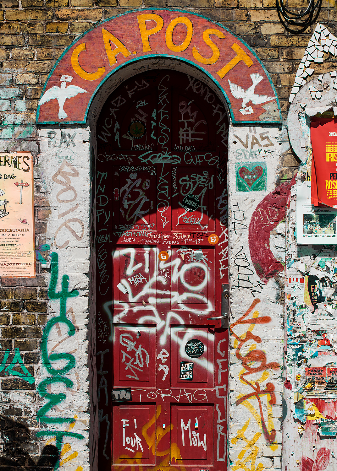 Christiania post office