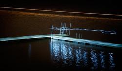 Ghost on the bridge