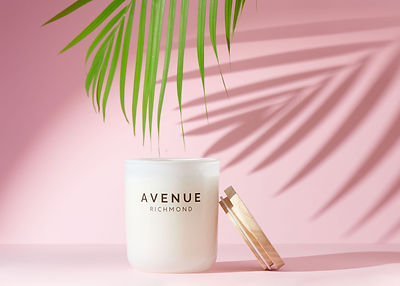 luxury scented soy candle