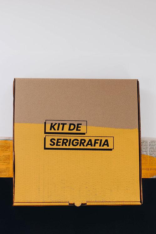 Kit de Serigrafia Para Tecido