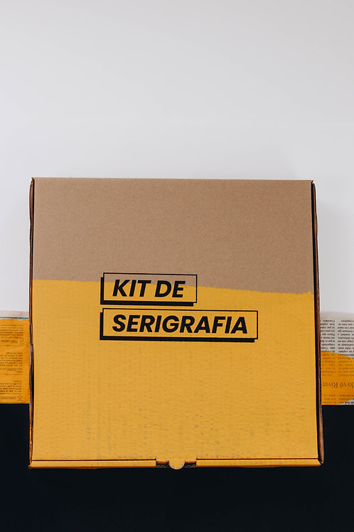 Kit de Serigrafia Para Papel