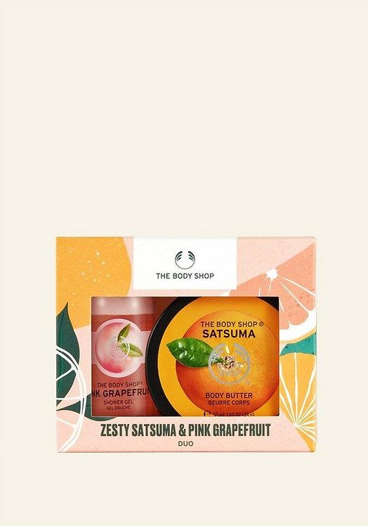 ZESTY SATSUMA & PINK GRAPEFRUIT DUO