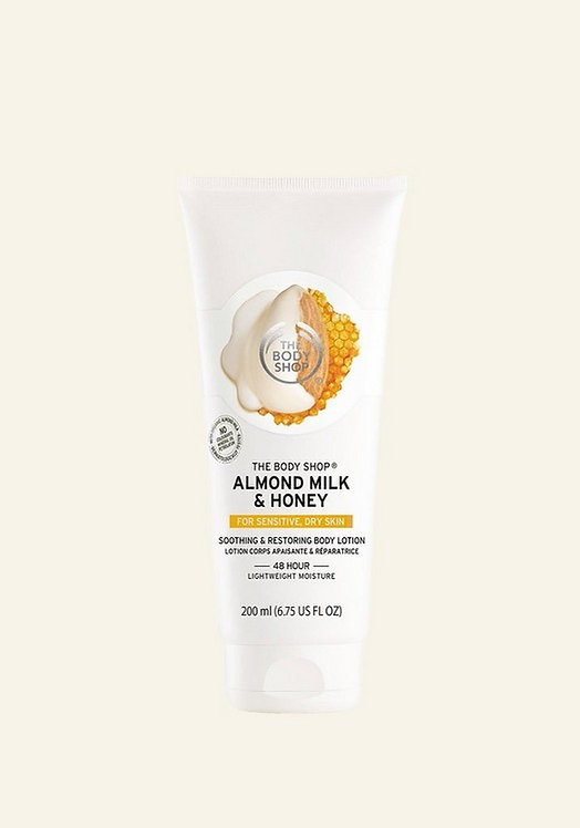 ALMOND & HONEY SMOOTHING AND RESTORING BODY LOTION 200 ML