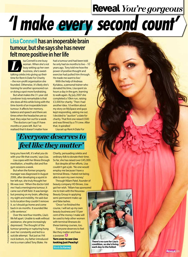 Reveal Magazine - Lisa Connell
