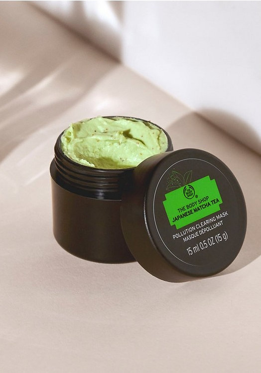 JAPANESE MATCHA TEA POLLUTION CLEARING MASK 75 ML - V