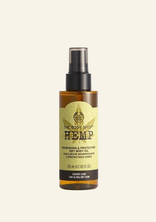 HEMP NOURISHING & PROTECTING DRY BODY OIL 125 ML - V
