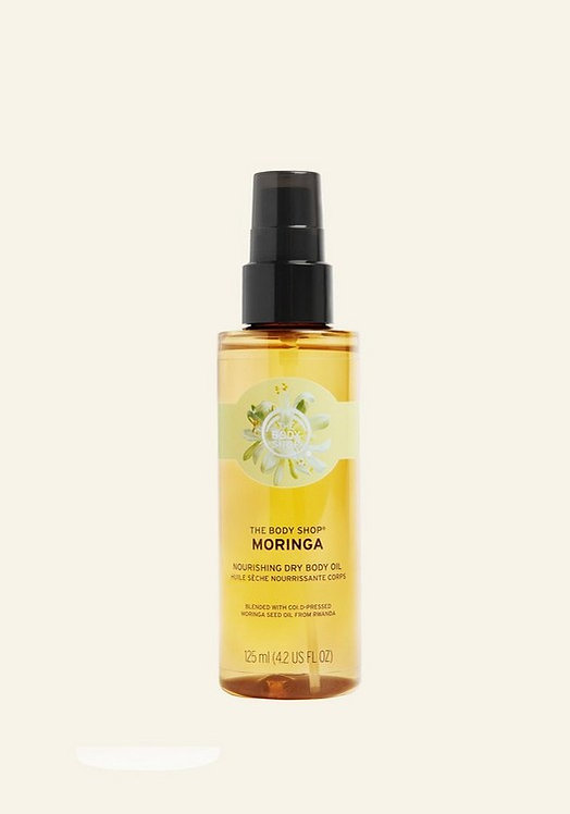 MORINGA NOURISHING DRY BODY OIL 125 ML - V