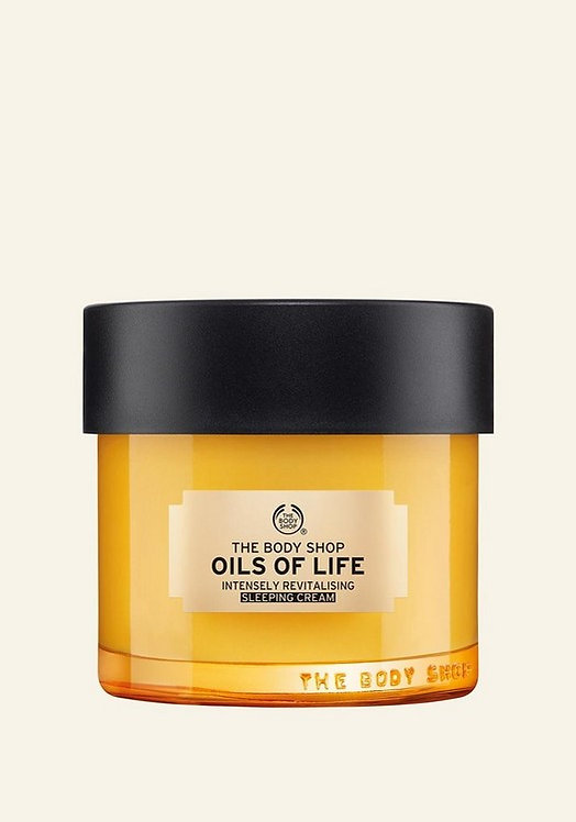 OILS OF LIFE™ - INTENSELY REVITALISING SLEEPING CREAM 80 ML