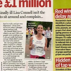 10k Run Lisa Connell Brain Tumour Awaren