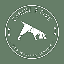 Canine 2 Five - Client of Lush Designs b