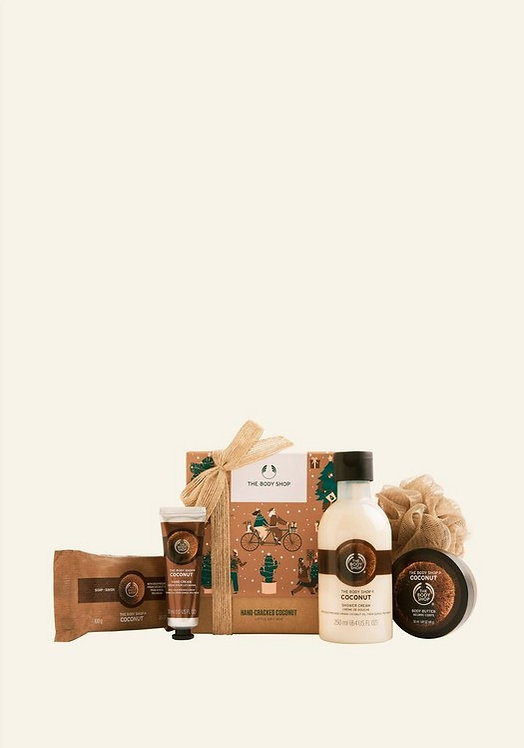 HAND CRACKED COCONUT LITTLE GIFT BOX