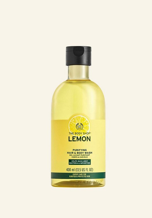 LEMON HAIR & BODY WASH 400 ML -V
