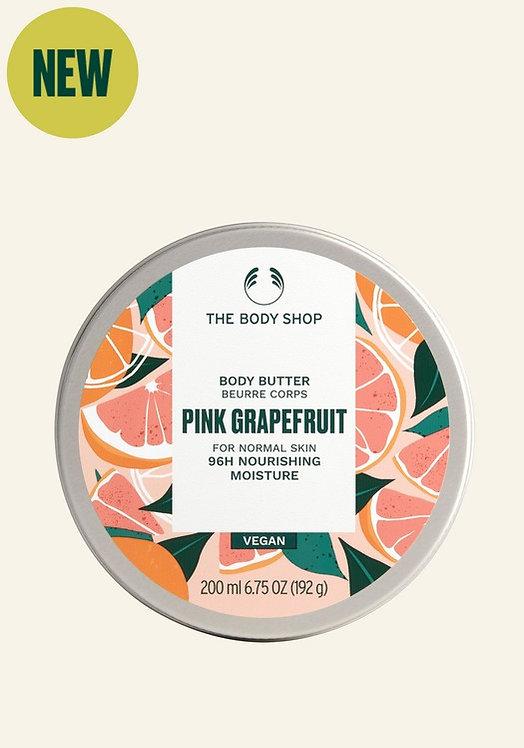 PINK GRAPEFRUIT ENERGISING BODY BUTTER 200 ML