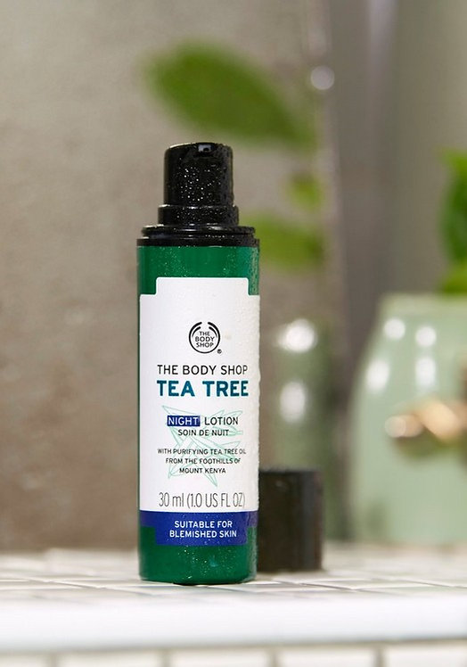 TEA TREE - NIGHT LOTION 30 ML - V