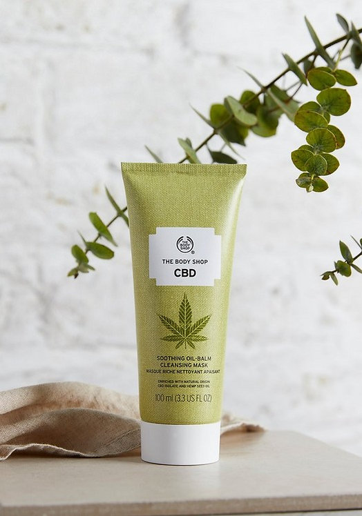CBD SOOTHING OIL BALM CLEANSING MASK 100 ML - V