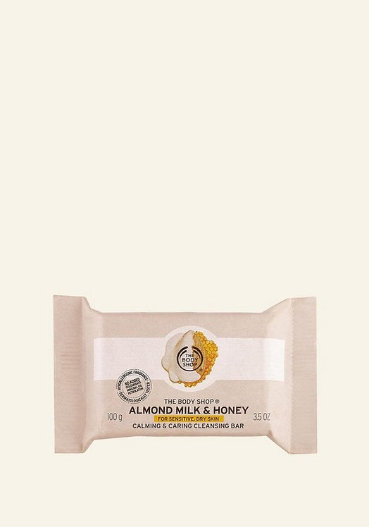 ALMOND MILK & HONEY SOOTHING AND CARING CLEANSING BAR 100 G