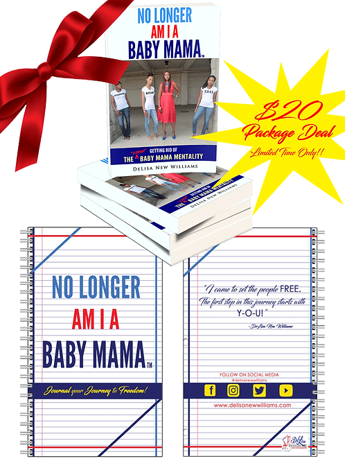 No Longer Am I A Baby Mama Book & Journal Duo