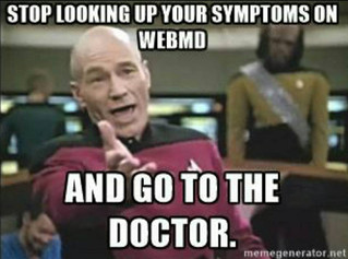 WebMD Is NOT Your Physician!