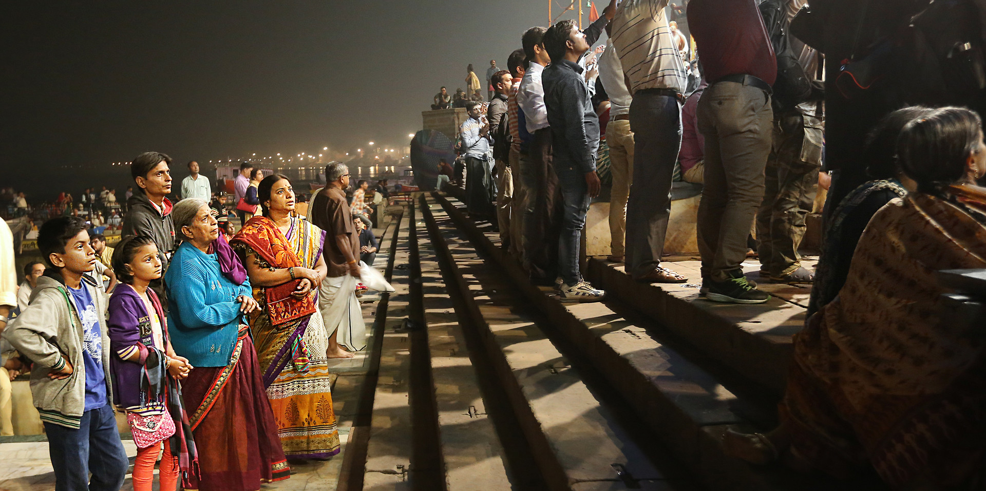 Night at the ghat