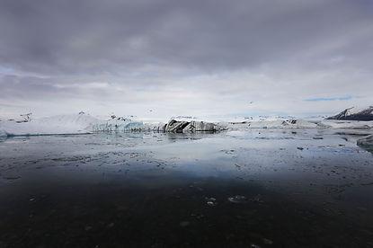 iceber landscape iceland jokulsarlon