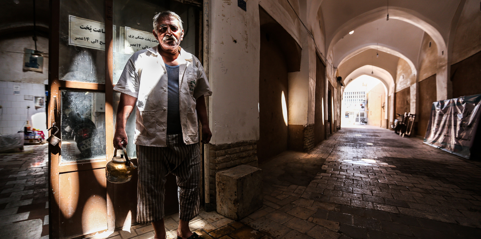The man in the souq