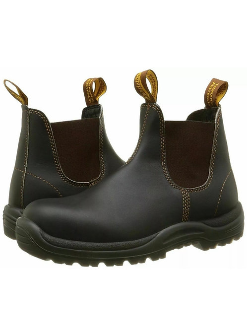 Blundstone 192 Industrial Safety work Dealer Boots Stout Brown