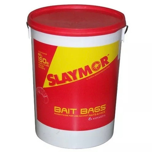 Slaymor PROFESSIONAL Rat & Mouse Poison 6 Kg made by Rentokil 120 sachets