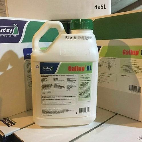5L GALLUP XL SUPER STRENGTH PROFESSIONAL GLYPHOSATE TOTAL GARDEN WEED KILLER