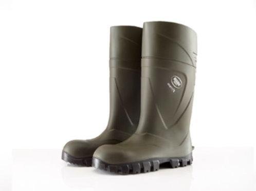 Bekina Steplite X Green SOFT TOE Wellington Boots