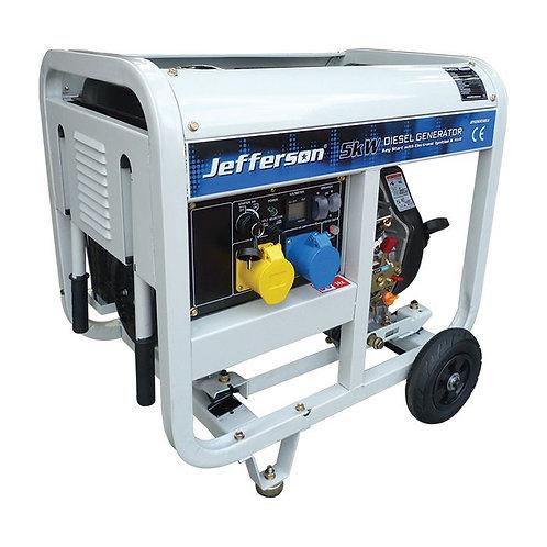 Jefferson 6.3kVA Diesel Generator