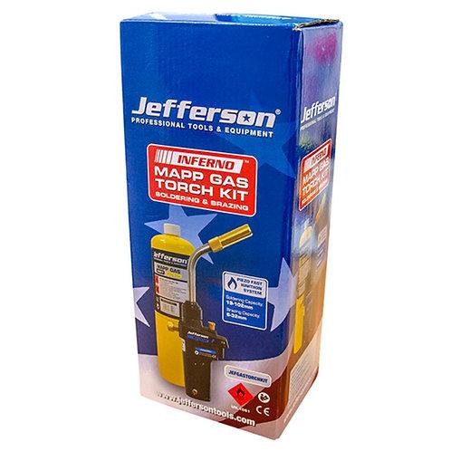Soldering & Brazing Gas Torch & Mapp Gas Kit - JEFGASTORCHKIT