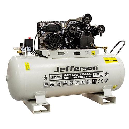 200 Litre 4HP Compressor - JEFCIND200L-4.0