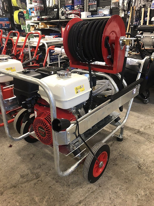 PdPro Honda gx390 pressure washer 13hp 21 litre min With 40 M Reel
