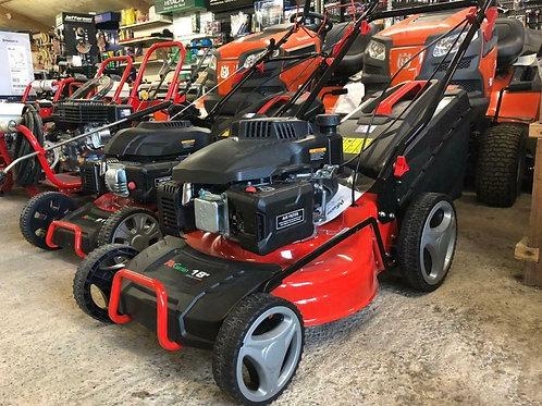 """Pd Garden Petrol Power Drive Lawnmower 18"""""""