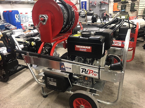 PdPro Professional Diesel High Pressure Washer Galvanised