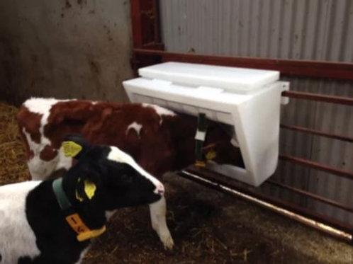 Gate Creep Feeder With Bird Flaps calves, lambs, goats,