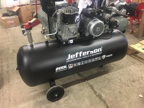 Jefferson 200 Litre 3HP Compressor 10 Bar 230V