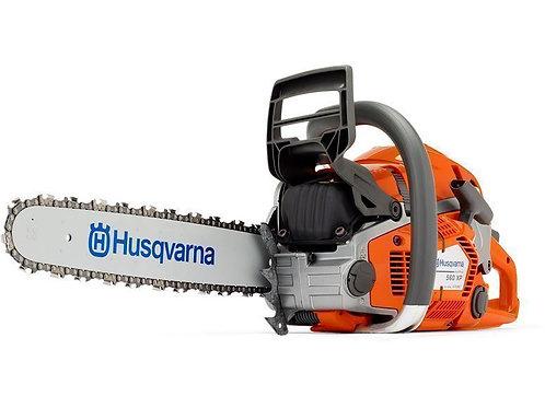 Husqvarna 560XP chainsaw (59.8cc) (18 inch bar & chain)