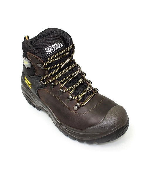 Grisport Contractor Safety Boot Black/Brown