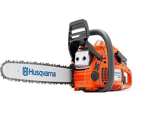 Husqvarna 445 chainsaw (45.7cc) (18 inch bar & chain)