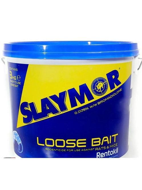Slaymor Professional Rat & Mouse Poison Bait Rentokil Rodenticides  3Kg Bucket