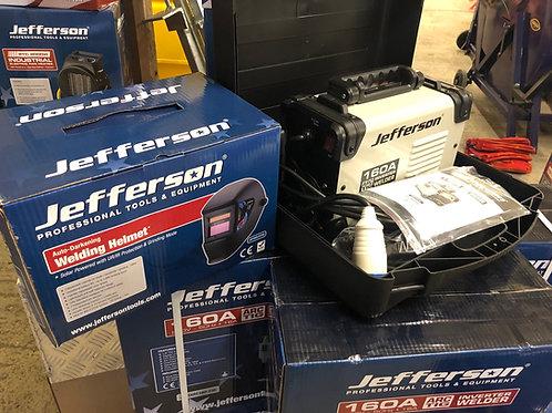 Jefferson 160 amp Inverter Arc/Tig  Welder Free Auto Helmet